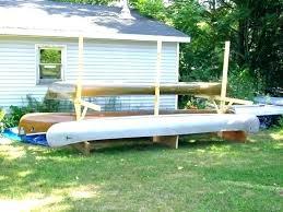 diy kayak storage kayak storage shed canoe rack kayak rack for garage medium size of outdoor