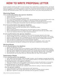 Business Brief Example Sample Of Written Business Proposals Scrumps