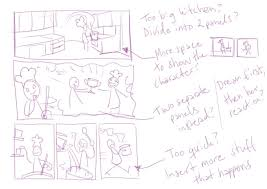 storyboard sketches create a comic how to plan and lay out your comic on stage set design template