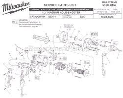 milwaukee 0234 1 parts list and diagram ser 532c milwaukee 0234 1 parts list and diagram ser 532c ereplacementparts com