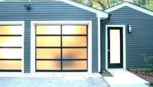 Glass Garage Doors Cost Of Door Full Overhead Price Aluminum Prices  Specialty Modern