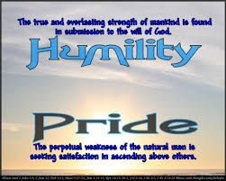 Christian Quotes On Pride And Humility Best of WHEN PRIDE GETS IN THE WAY McSellers Thought Of The Day