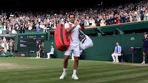 Tennis: He's Out. Federer dismissal ...
