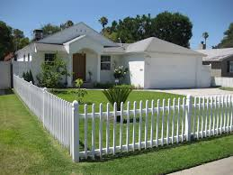 vinyl picket fence front yard. Contemporary Fence Vinyl Picket Fence Front Yard Bgbc Co Throughout