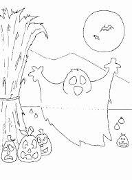 Disegni Da Colorare Per Bambini Di 5 Anni Fantasma Di Halloween