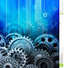 automotive technology background. Cogs Data Computer Technology Background In Automotive Technology Background