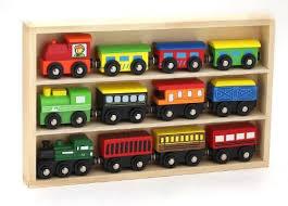 12 pcs wooden engines train cars collection fits thomas brio chuggington