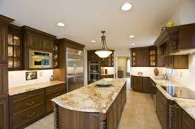 Modern Kitchen Storage Glorious Granite Kitchen Countertops Combined With Wooden Glass