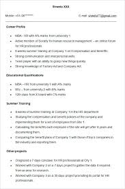 Human Resource Resume Examples Resources Director Sample Employee ...