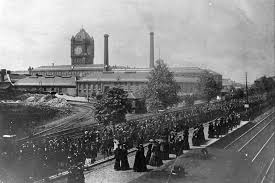 Singer Sewing Machine Factory Clydebank