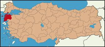 Image result for çanakkale haritası