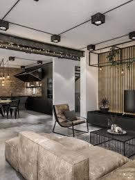 industrial loft furniture. chic industrial loft in lithuania gets modern updates furniture r
