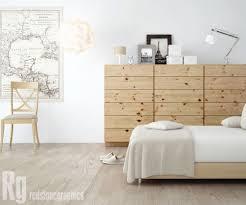 Scandinavian Pine Bedroom Furniture Scandinavian Design Bedroom Furniture Wooden Attractive Floating