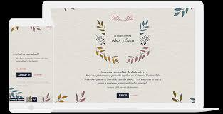 Plantilla Gratis Para Crear Invitaciones De Boda Online