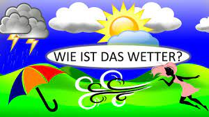 Das Wetter & Wettervorhersage | Deutsch lernen| The weather in German -  YouTube