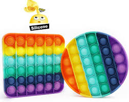 Fidget toy fidget pack fidget toys for adults&kids, sensory toys anxiety toys adhd toys fidgets for kids (pop its fidget toy cheap, round tie dye mixed colors) 4.8 out of 5 stars 39 $7.98 $ 7. Amazon Com Pop Its Fidget Toy Pop It S Bubble Sensory Fidget Toy Autism Special Needs Stress Reliever Squeeze Sensory Toy Relieve Stress Help Restore Emotions 2pcs Rainbow Raibow Toys Games