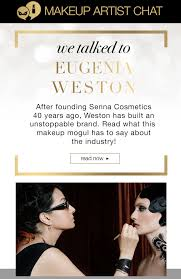 crc makeup makeup artist chat with senna founder eugenia weston milled