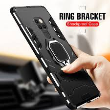 Huawei Mate 20X Mate 20 Pro <b>Magnetic Stand Ring Case</b> Cover ...