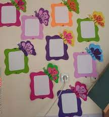 Use your walls to create informative and engaging sections of content. Ideas For Class Decoration Yahoo Search Results Yahoo Image Search Results Preschool Craft Activities School Decorations Butterflies Classroom