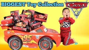 BIGGEST Disney Cars 3 Toy Collection Ever Delivered By Lightning.