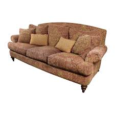 paisley furniture. 85% OFF Ethan Allen Sofas Paisley Sofa With Toss Pillows Furniture L
