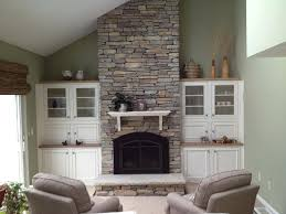 stone over brick fireplace photo of orange county construction remodel orange ca united states stone cultured