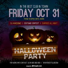Free Halloween Party Posters Templates Halloween Party Poster