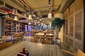 google israel office. eating area google israel office c