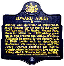 abbey s web my people part i section  the campaign for an abbey historical marker in home pa erected in 1996 was spearheaded by this article s author