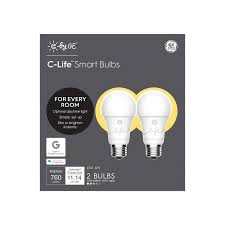 Speaker Light Bulb Lowes 2 Pack Ge Smart 3 Way Dimmable A19 Led Bulbs 9 98 Free