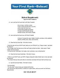 Cub Scouts Worksheets Teaching Resources Teachers Pay