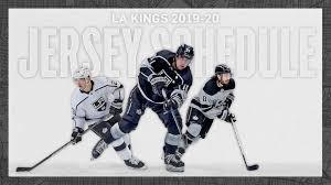 Which Jerseys Will The La Kings Wear This Season