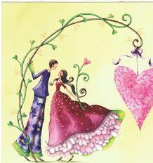 Mila Marquis Art Nina Shen Le Couple D Amoureux Sous La
