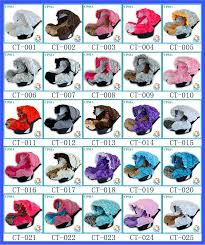 boy car seat canopy turquoise damask infant car seat cover cute lovely newborn baby car seat