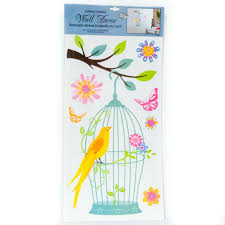Each type has its own pros and cons and they'll all. Express Yourself Wall Decor Stickers Bird Cage Butterflies Flowers Peel Stick