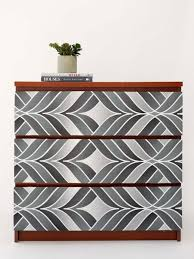 Use Wallpaper to Amp Up a Tired Dresser ...