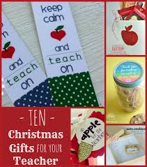 10 gift ideas for teachers is the new cly
