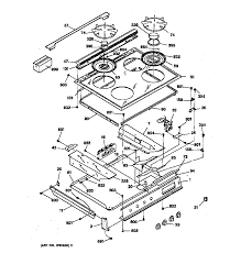 general electric jgsp31wetww gas range timer stove clocks and jgsp31wetww gas range control panel cooktop parts diagram