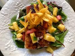 Jerk Mahi Mahi with pineapple salsa ...