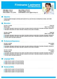 Simple Design Best Free Online Resume Builder Build Your Own Resume