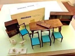modern miniature furniture. Dollhouse Furniture Ebay Modern Vintage Miners Industries Japan Mid Century Ideas . Miniature