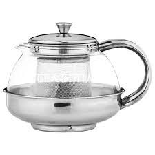 Купить <b>заварочный чайник AGNESS</b> 600 мл. с фильтром высота ...