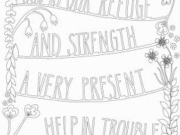 Psalm Coloring Page Astounding Inspirational Free Printable Bible 51