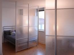 glass wall room divider ideas for studio home room within a