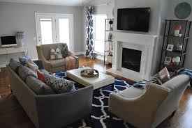 Navy Rug Living Room Studio 7 Interior Design The Friday Five Area Rugs