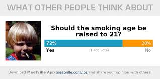 People Raising 21 Age Blog - To Smoking Support Do Meetville