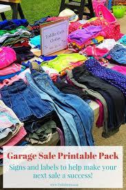 Printable Garage Sale Kit Twitchetts