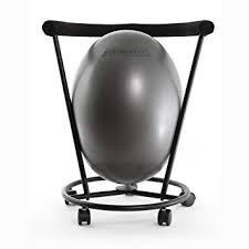 ergonomic ball office chairs. Delighful Chairs The ERGO Chair  An Ergonomic Exercise Ball Gray In Office Chairs