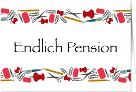 Pension Gedicht Fun