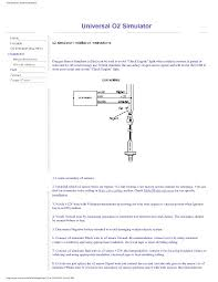 universal o2 simulator oxygen sensor 2003 Cts O2 Wiring Diagram Dodge Ram Trailer